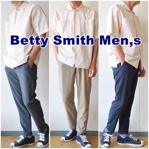 Betty Smith ベティスミス アンクル トラウザ―パンツ bam602B EVALET エバレット 吸汗 速乾 吸水性 ストレッチ