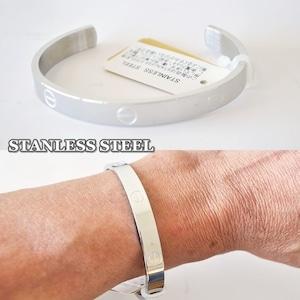 バングル ステンレス製 STANLESS STEEL ステンレススティール メンズバングル