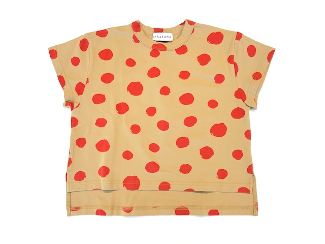 【20ss】arkakama (アルカカマ) COTTON SPDX WIDE Tee/THIS IS a DOT(S / M / L ) ビッグ Tシャツ