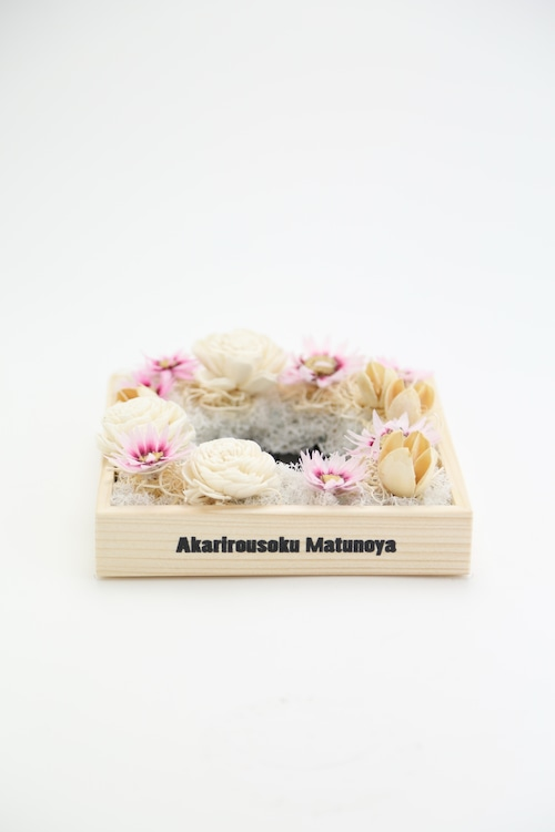 No.209 flower candle stand | gift box 5700