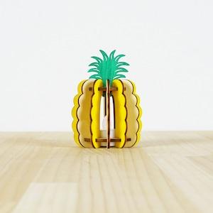 「パイナップル」木製ミニランプ