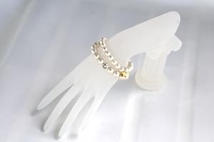 Cotton PearlSmile bracelet