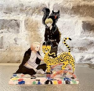 〈東京リベンジャーズ〉千冬&バジ猫 アクリルスタンド (スタジオ描き下ろし商品)