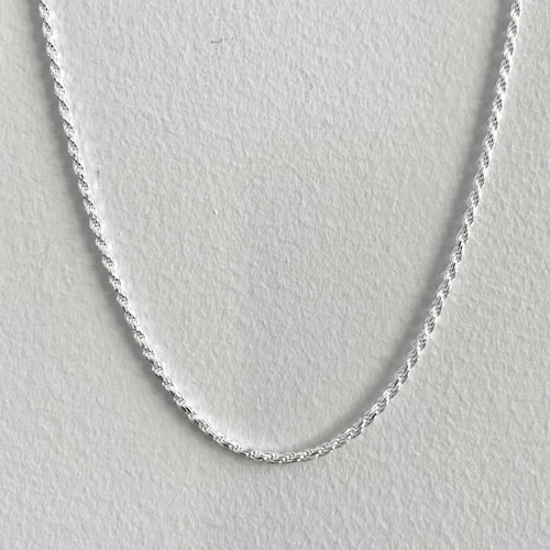 【SV1-45】16inch silver chain necklace