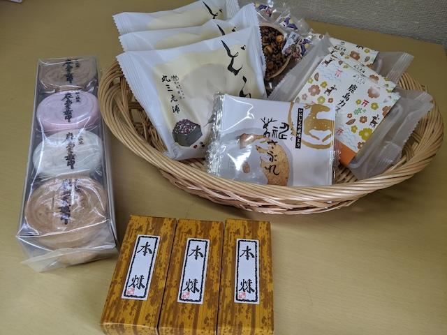 オフィス用置き和菓子【梅】(頻度:月1回、6か月間)