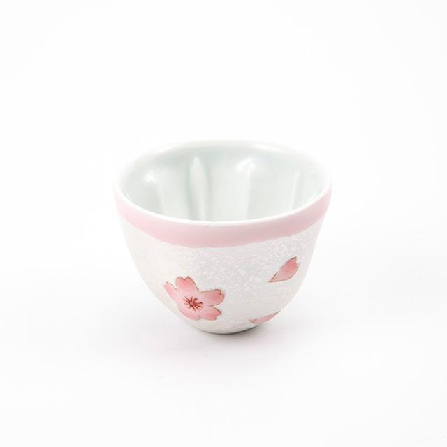 虹彩桜  小煎茶碗