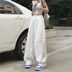 【ボトムス】シンプル無地ストリート系ファッションカジュアルパンツ52378772