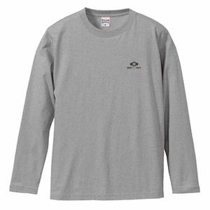 ワンポイントC.A.D長袖Tシャツ(グレー)