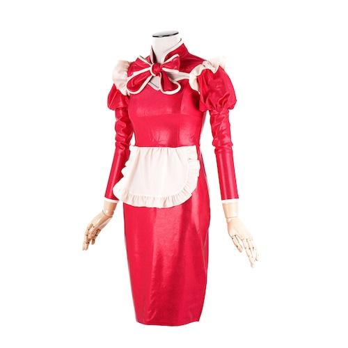 サイバーメイド服セット ロングタイトスカート