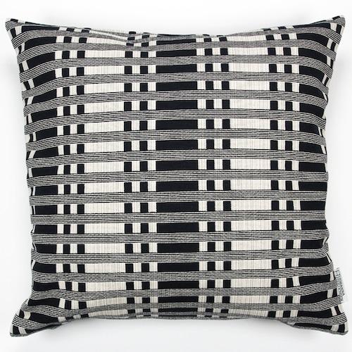 JOHANNA GULLICHSEN(ヨハンナ グリクセン) Zipped Cushion Cover Tithonus(ティトナス) Black