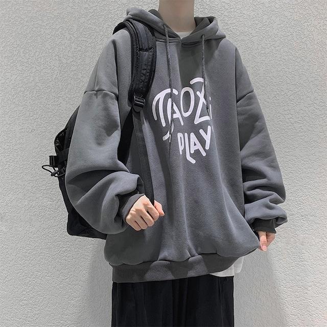 【メンズファッション】好感度UP 厚手の生地 プリント メンズファッション フーディー 海外トレンド ストリート系 フーディー メンズパーカー52903193