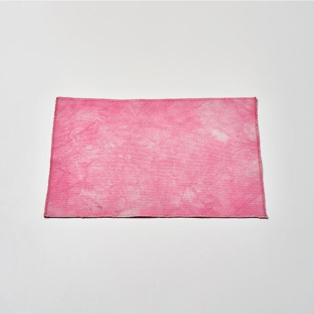 帆布で作ったランチョンマット(ピンク) 45cm×30cm