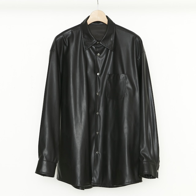 Synthetic Leather Shirt