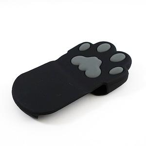 ネコの肉球 鍋つかみ(黒猫)(F-021B)