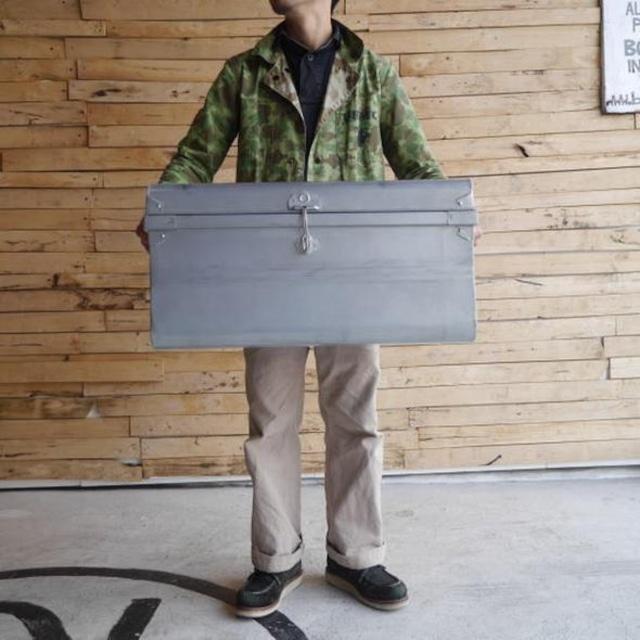ブリキクラシックトランクボックス Lサイズ