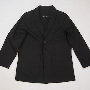 <OSOCU>Denim jacket with black dye
