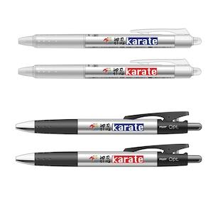 JKFロゴ入りフリクションボール・油性ボールペン ノベルティに最適なペンセット