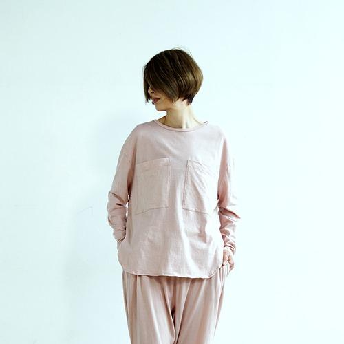 ヨセミテ オーバーサイズTシャツ 朝焼けのうすピンク