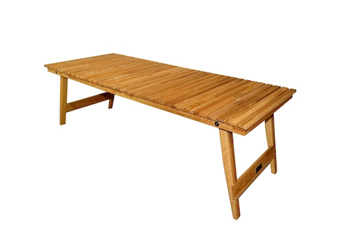 OOPARTS OAK フォールディング W1200 テーブル(脚一体型)