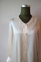 Silk lace blouse