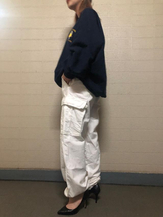 White military pants