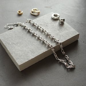 NECKLACE || 【通常商品】 TSUBU CHAIN NECKLACE || 1 NECKLACE || SILVER || FNOAL1205L