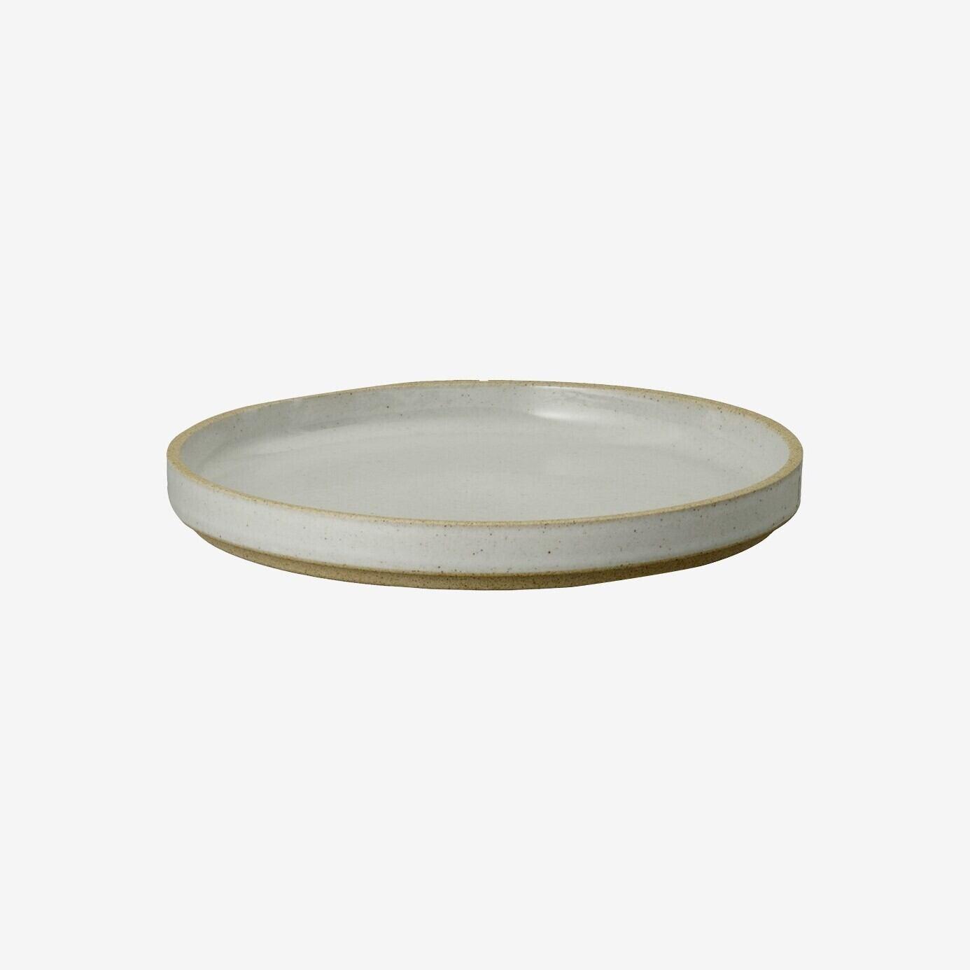 HASAMI PORCELAIN (ハサミポーセリン) Plate (Clear / グレー) 【145x21】HPM002