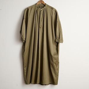 suzuki takayuki スズキタカユキ slip-on dress khaki