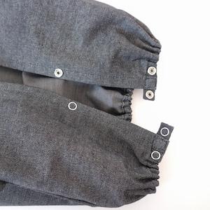 つみきどうぶつの抱っこ紐収納カバー ヒップシートサイズ紺デニム
