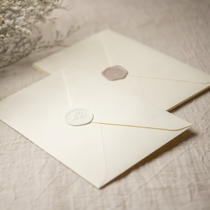 コットン封筒 アイボリー(洋1)  10枚
