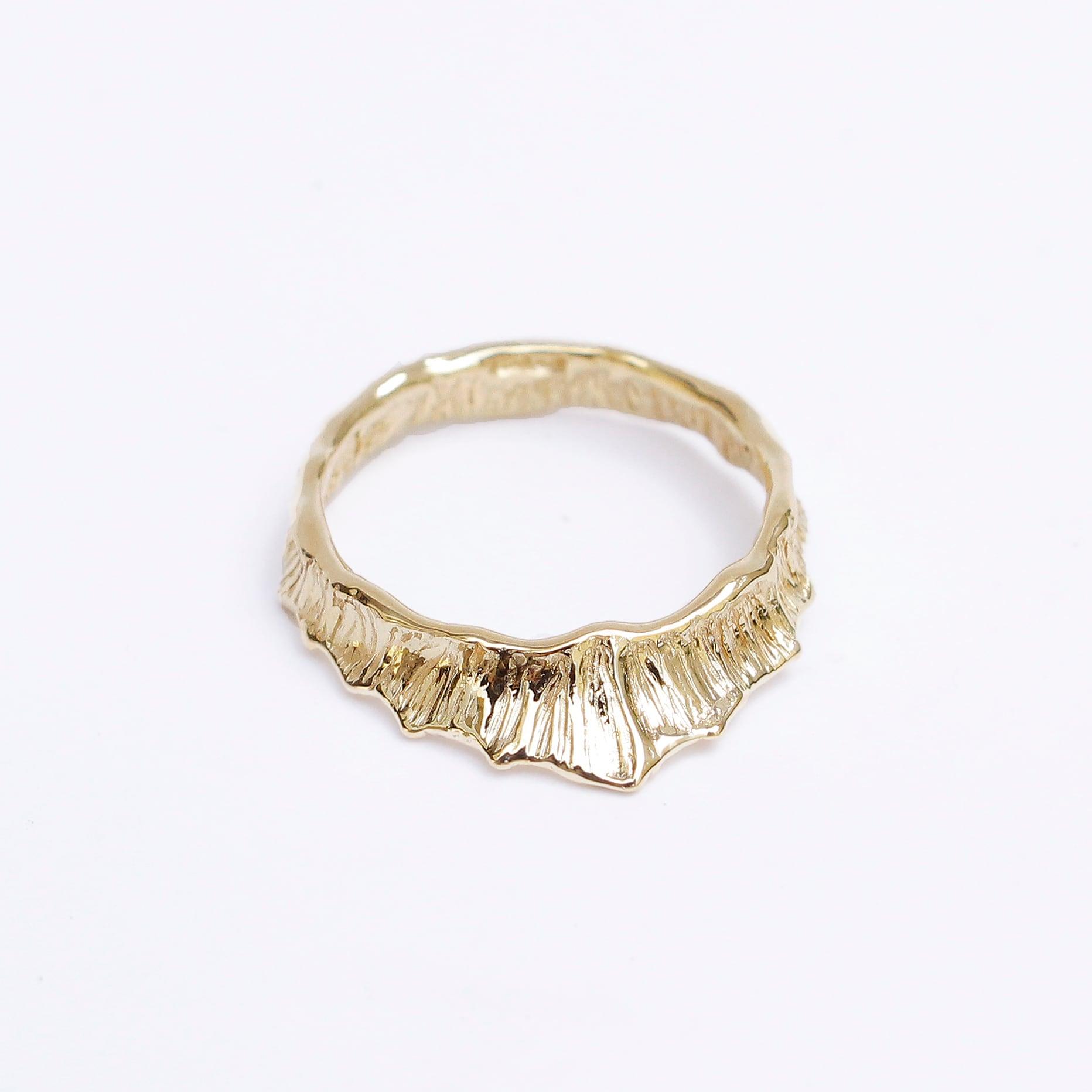 conoa (コノア) しずくなりかけの指飾り gold