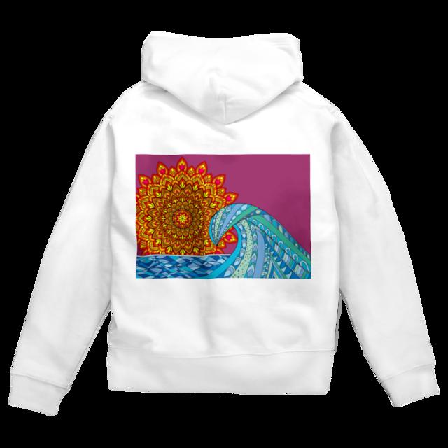 Mandala Sun & Sea ホワイト