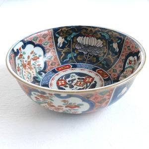 【30706】伊万里の大鉢 明治/ Imari Big Bowl Botan/ Meiji