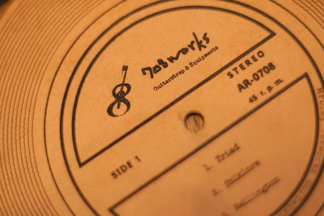 Vinyl Record Coaster / レコード盤型コースター(2枚/1セット)