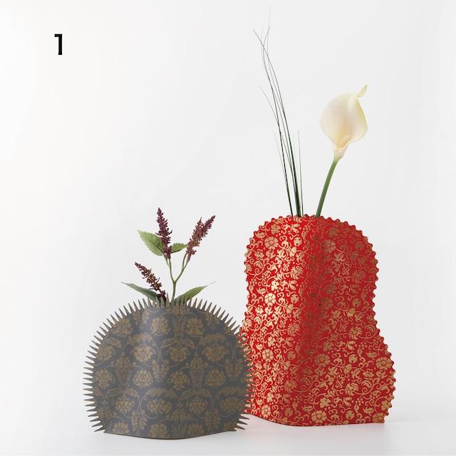 花なり 金襴・緞子セット(2枚組)   Hannari