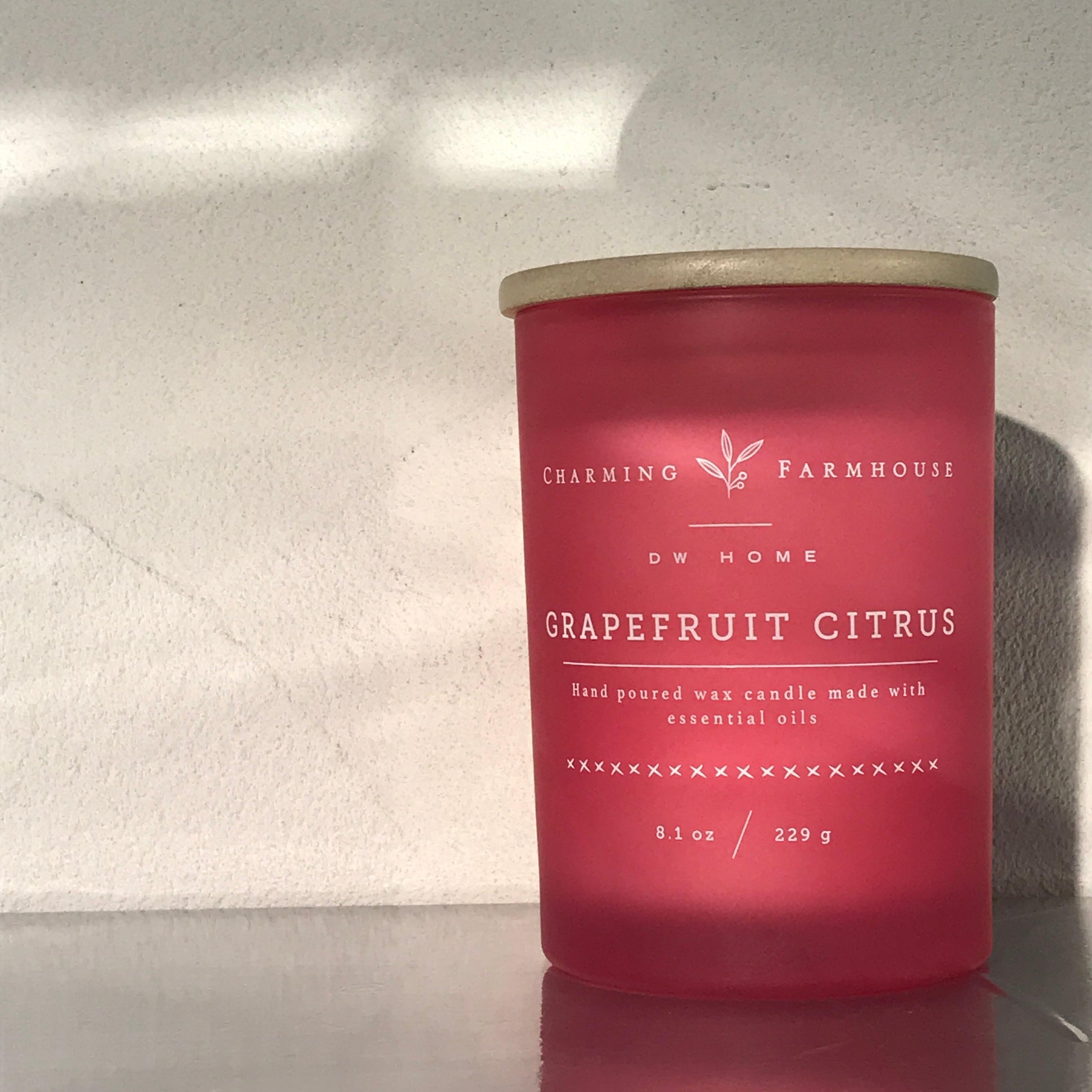 【DW Home Candles】GRAPEFRUIT CITRUS【アロマキャンドル】