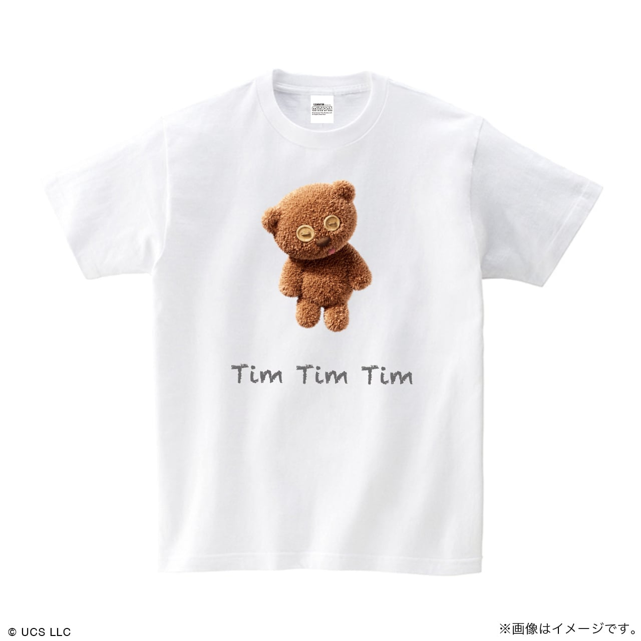 Tシャツ/ミニオン(Tim ホワイト)【MINIONS POP UP STORE 限定】