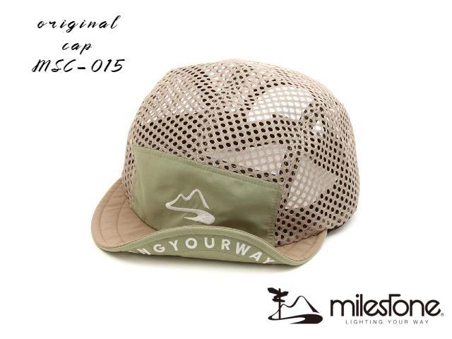 【milestone】 Full mesh cap (Pistachio)