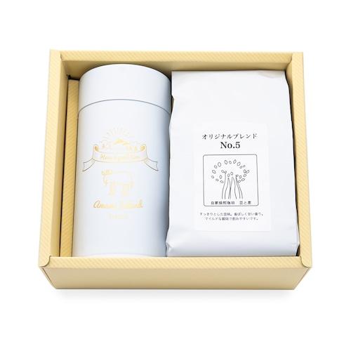 珈琲(200g入)とキャニスター缶のセット gift-F