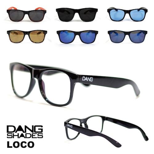 DANG SHADES (ダン・シェイディーズ) LOCO (ロコ) loco2 サングラス ケース 付属 アウトドア ユニセックス メンズ レディース キャンプ ウィンター スポーツ スノボ スキー 紫外線 メガネ 眼鏡 グラス おしゃれ かっこいい カラー ライト 運転 ドライブ