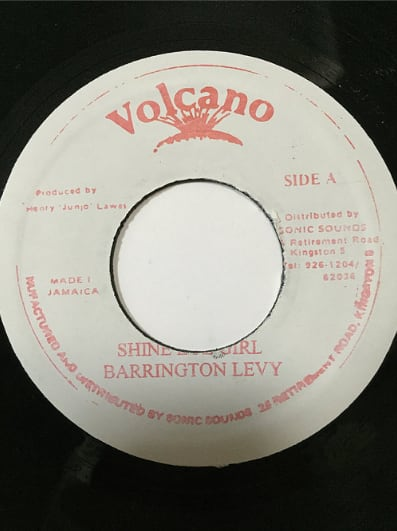 Barrington Levy(バーリントンリヴィ) -Shine eye Girl【7'】