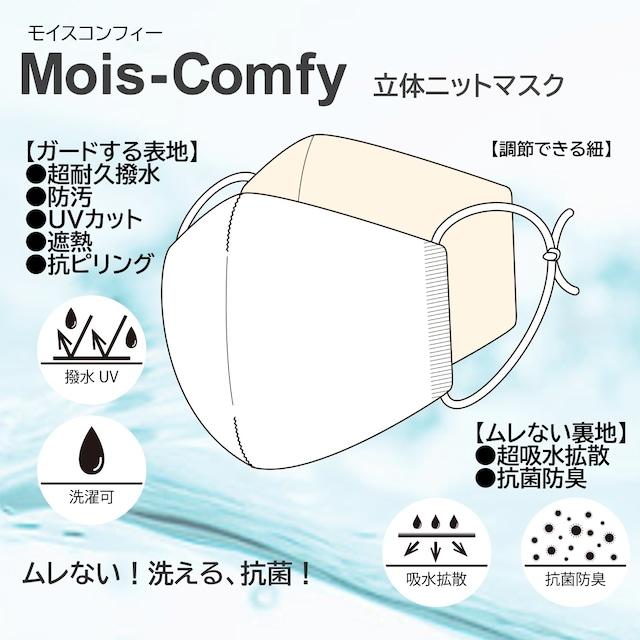 洗える、抗菌!立体ニットマスク Mois-Comfy(モイスコンフィー)日本製