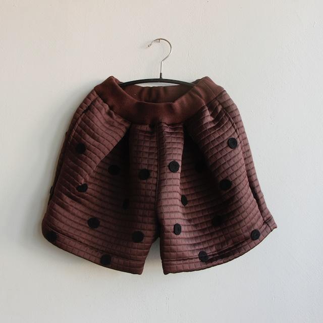 《UNIONINI 2021AW》metelasse culotte / brown