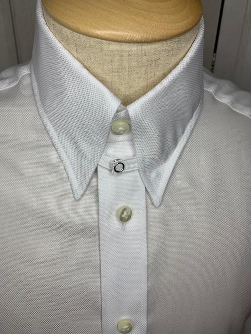 シャツ(単品)Sサイズ タブカラー