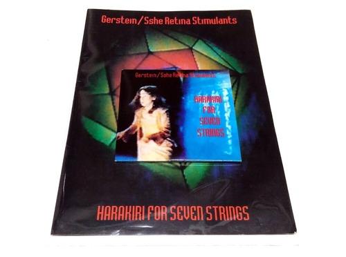 [USED][*] Gerstein / Sshe Retina Stimulants - Harakiri For Seven Strings (1994) [CD]
