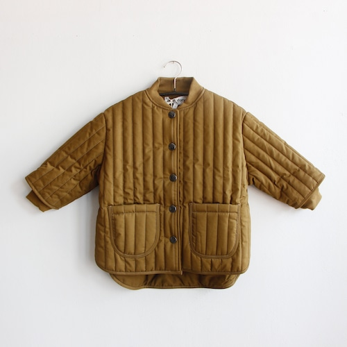 《main story 2021AW》Quilted Jacket / Butternut