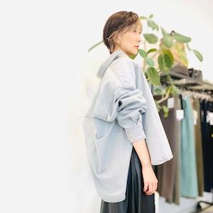 DOUBLE STANDARD CLOTHING (ダブルスタンダードクロージング ) ビックシルエットデニムジャケット 0205290213