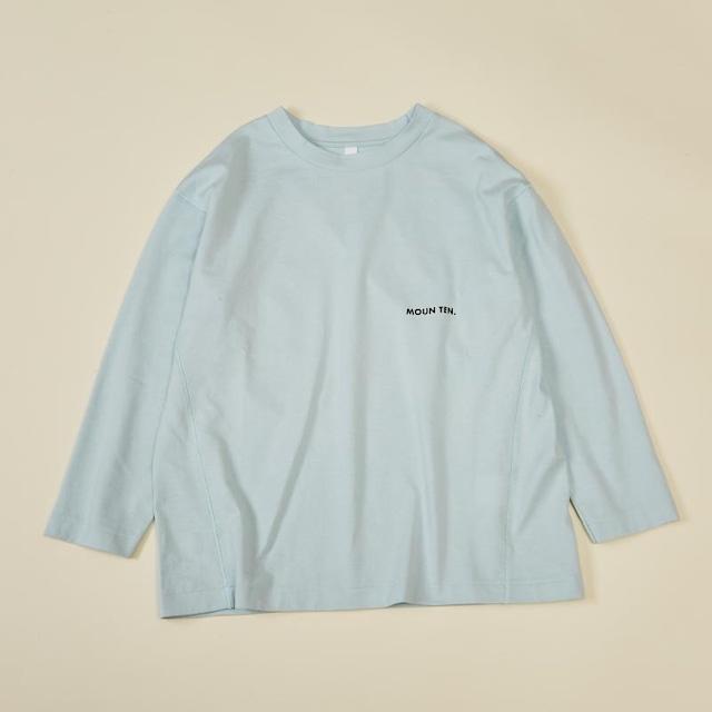 MOUN TEN. 0サイズ organic cotton logoT [21W-MT71-1003b] MOUNTEN.※1点までメール便OK