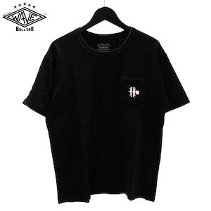 NEIGHBORHOOD S/DOUBLEコラボ 刺繍胸ポケットTシャツ