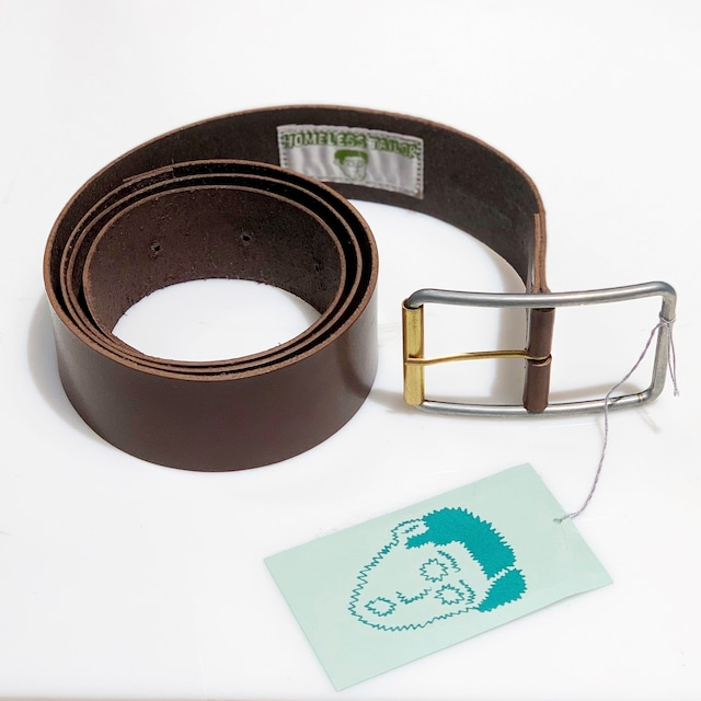 【HOMELESS TAILOR】Leather Belt